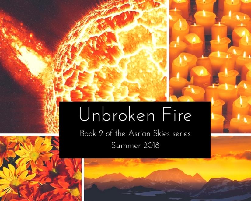unrboken fire aestetic